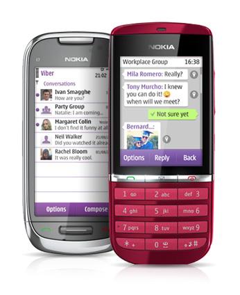 Tải Viber cho Nokia (Java, s40, s60, Nokia Asha) miễn phí